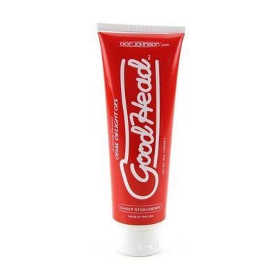 Gel bôi trơn quan hệ bằng miệng Good Head hương dâu (Oral sex gel)