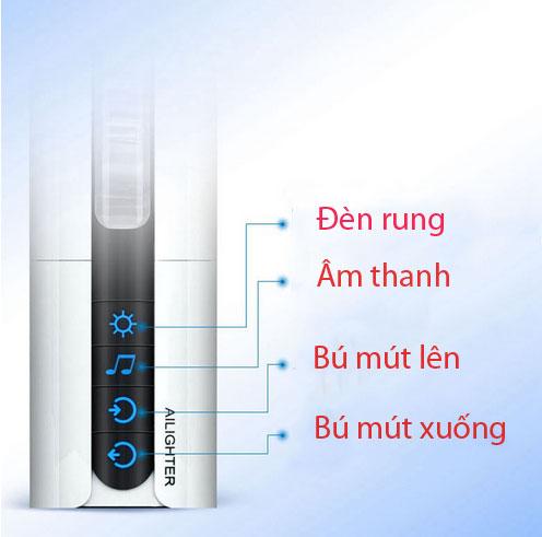 Nút điều khiển âm đạo bú mút tự động tỏa nhiệt Ailighter