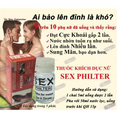 Thuốc kích dục nữ Sex Philter đỏ