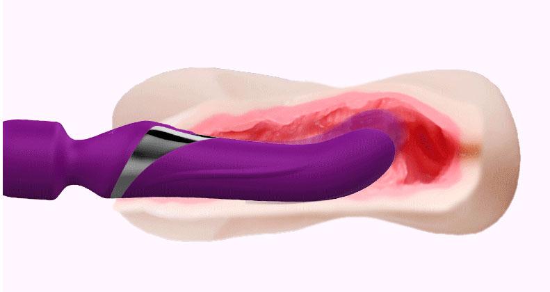 Chày rung kích thích điểm G có thể massage sâu trong âm đạo